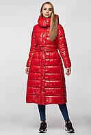 Зимняя женская куртка-пальто KTL-363 из новой коллекции KATTALEYA красная