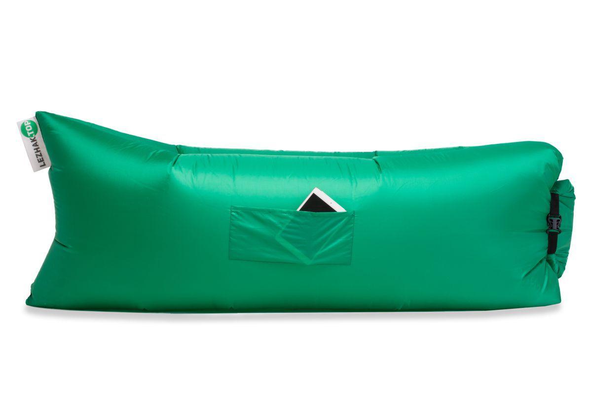 Надувной шезлонг Ripstop зеленый
