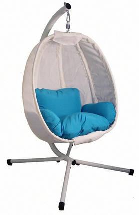 Підвісне крісло кокон з подушками Stenson MH-2745 125x95x170 см (до 180 кг), фото 2