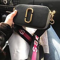 Женская сумка в стиле Marc Jacobs (Марк Джейкобс), черная