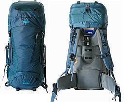 Туристичний рюкзак Floki 50 + 10 синій. Рюкзак туристический 60л. Рюкзак походной
