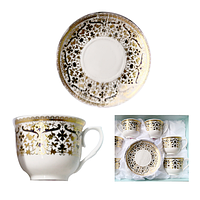Сервиз чайный 12 предметов Нефертити SNT 146-01