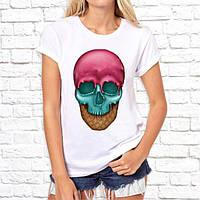 Женская футболка Push IT с принтом Череп