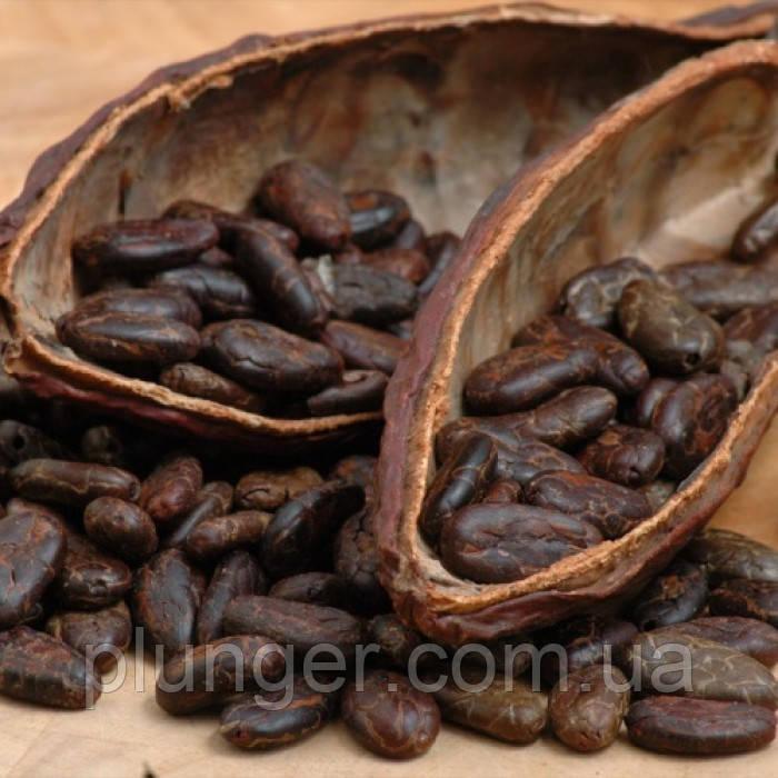 Какао бобы крупные сырые Ghana Premium, 100 г