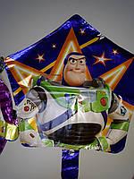 """Воздушный шар фольгированный в форме звезды с рисунком герой мультфильма """"Истории игрушек"""""""