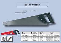 Ножовка по дереву 9TPI, 400мм., Top Tools 10A504, фото 1