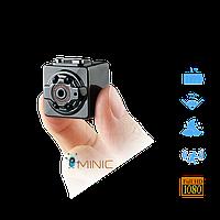 Мини камера SQ8 1080p с ночной подсветкой и датчиком движения