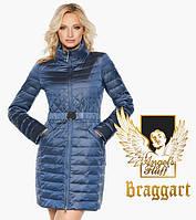 Воздуховик удлиненный демисезонный женский Braggart Angel's Fluff - 39002 ниагара