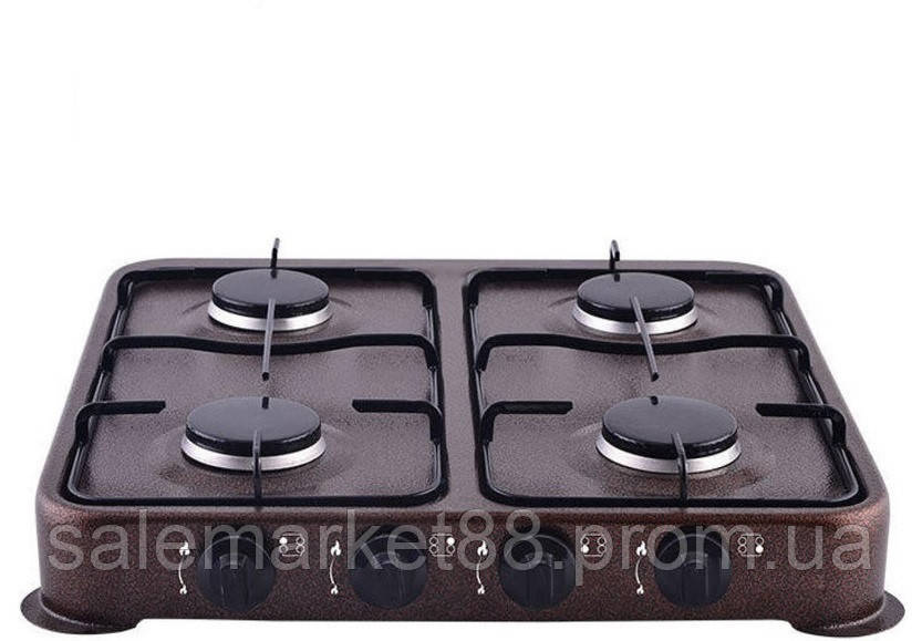 Газовая плита таганок настольная DOMATEC DT-6004 на 4 комфорки