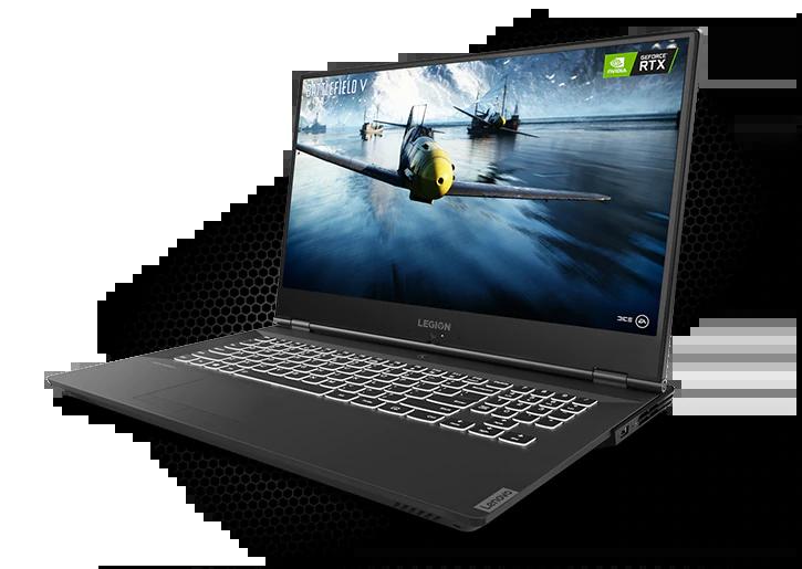 Ноутбук Lenovo Legion Y540 17.3FHD IPS/Intel i7-9750H/16/1024F/NVD2060-6/W10/Black