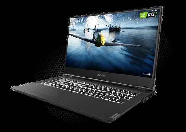 Ноутбук Lenovo Legion Y540 17.3FHD IPS/Intel i7-9750H/16/1024F/NVD2060-6/W10/Black, фото 2