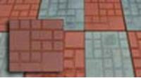 "Плитка квадратная ""Шоколадка"" 250х250х25 мм (6 оттенков)"