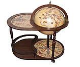 Глобус бар со столиком 420мм-Зодиак 42004N столик глобус-бар, высота 91 см, фото 2