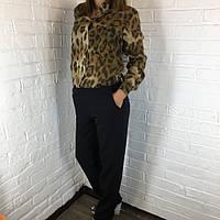 """Комбинезон брючный """"Леопард"""" коричневый 44-46"""