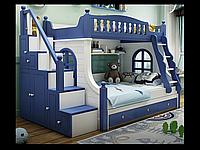 Двохярусне ліжко з вікнами, фото 1