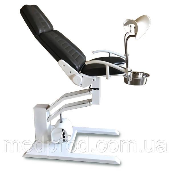 Кресло гинекологическое смотровое КС-1РГ с гидравлической регулировкой высоты