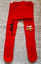 Колготы детские красного цвета ТМ ЛЕГКА ХОДА (Украина)  размер 122 128, фото 2