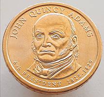 США 1 доллар 2008 - Джон Куинси Адамс 6 президент