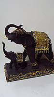 Статуэтка два слона керамическая размер 29*26*13