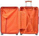 Набор чемоданов Bonro Next 3 штуки фиолетовый, фото 6