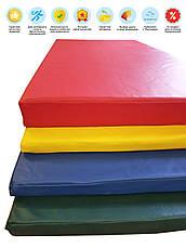 Мат борцовский татами 200х100х5 см 160 кг/м3, фото 2