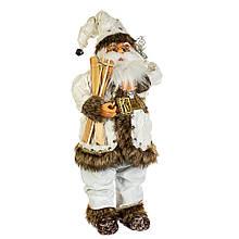 Фигурка новогодняя Санта 45 см Uniсorn Studio 500046NC статуэтка Дед Мороз фигура Санта Клаус