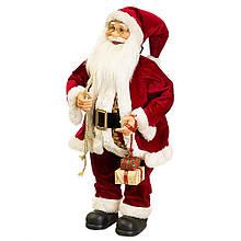 Фигурка новогодняя Санта 64 см Uniсorn Studio 500032NC статуэтка Дед Мороз фигура Санта Клаус