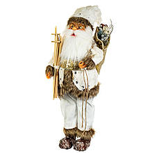 Фигурка новогодняя Санта 56х17 см Uniсorn Studio 500045NC статуэтка Дед Мороз фигура Санта Клаус