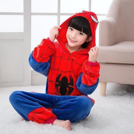 Пижама кигуруми Взрослые и Детские Человек паук