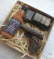 """Мыло ручной работы """"Виски, пистолет и машина"""""""