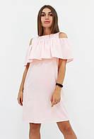 S, M, L / Молодіжне повсякденне плаття Lola, персик
