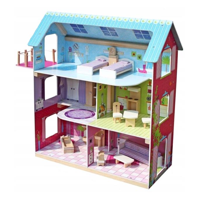 Кукольный домик aGa4kids LESLIE