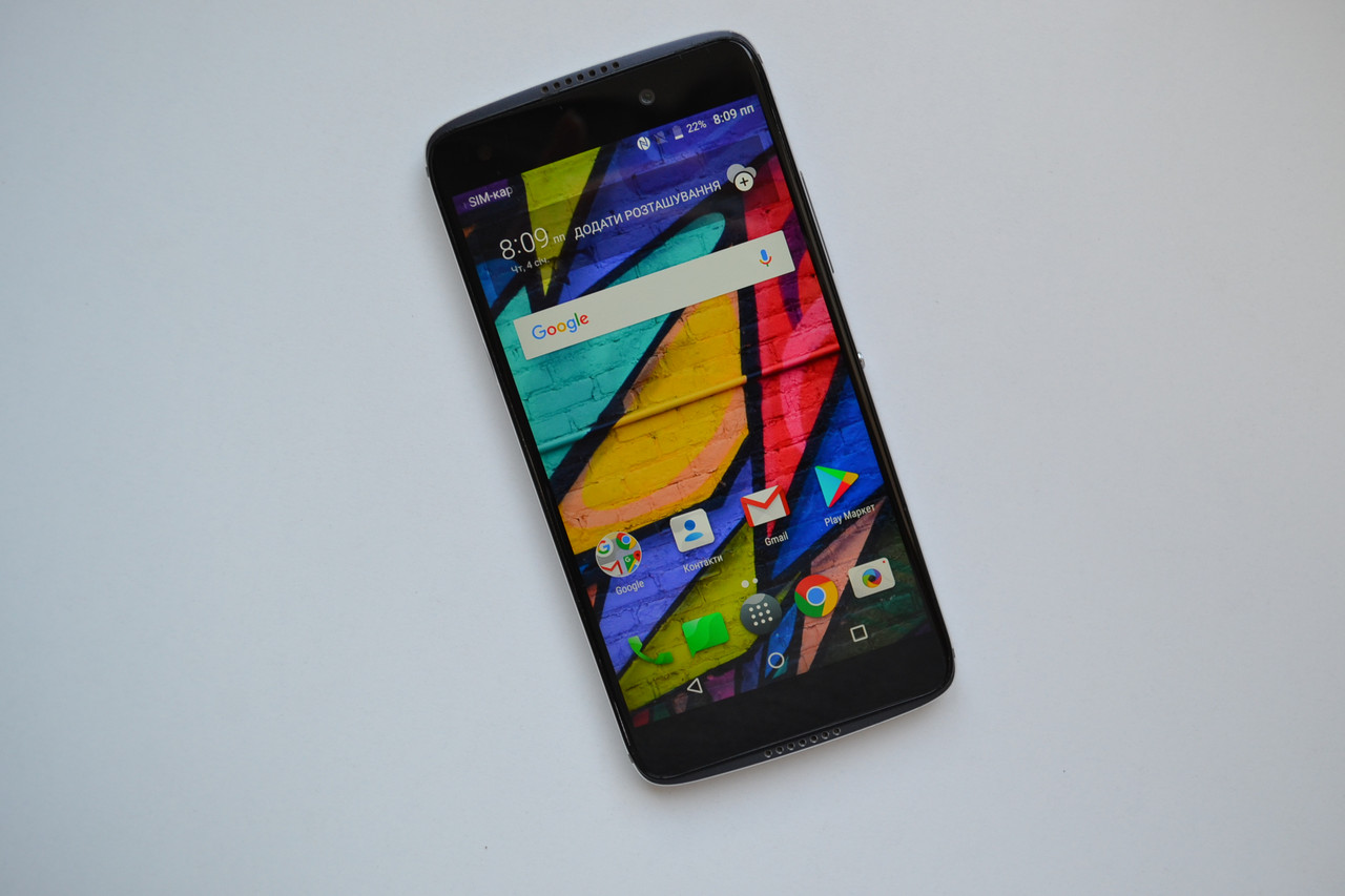 Смартфон Alcatel Idol 5 - 5.2'', 32Gb, 13MP, 2850mAh Black Оригинал!