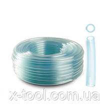 Шланг ПВХ однослойный бензо-маслоустойчивый Ø=12 мм/25 м (79V374) Polix P1608000122515P (Польша)