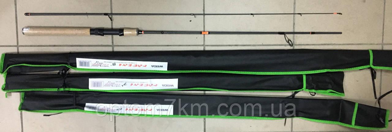 Спиннинг Weida Pageni 2.4m, тест 3-12g