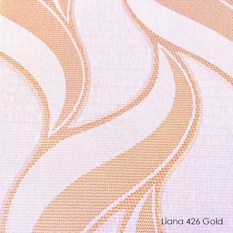 Вертикальні жалюзі Liana-426 gold
