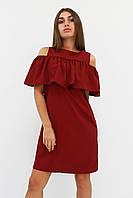 S, M, L / Молодіжне повсякденне плаття Lola, бордо L (46-48)