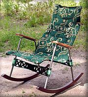 Ортопедическая кресло качалка тканевая