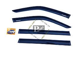 Дефлекторы окон ВАЗ 2171 Приора универсал (на скотче) VG - Ветровики Lada Priora