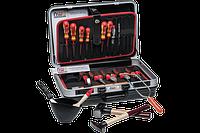 Ящик пластиковый с инструментами 470X360X180 мм 23 элементы NWS 321K-23 (Германия)