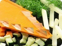 Додаткова вставка для овочерізки Бернер Оптима з ножами 10 мм