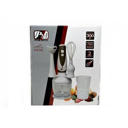 Блендер PROMOTEC PM-586 ручной погружной белый, фото 2