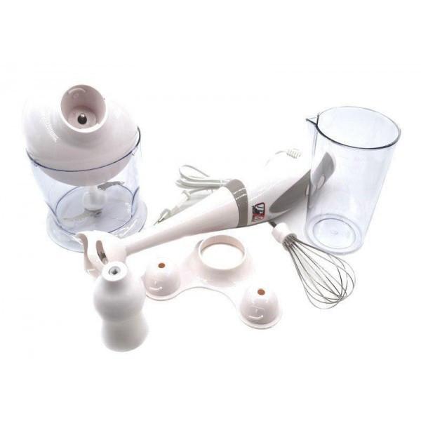 Блендер PROMOTEC PM-586 ручной погружной белый