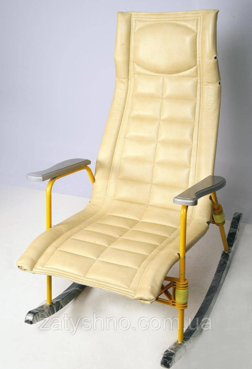 Удобное оропедическое кресло качалка