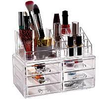 Органайзер для косметики Cosmetic Storage Box 6-Drawer