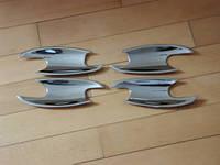 Хром под ручки дверей (мыльницы) Mercedes Bens C Class W203 ( 99- 2006)