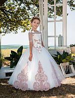 Детское нарядное платье Жоржета
