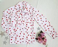 Стильная блузка для девочки 128-146 р.р.