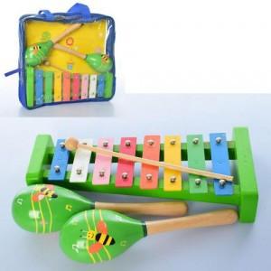 Деревянный Набор музыкальных инструментов Fun Toys MD 2127