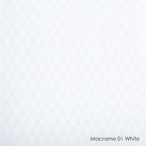 Вертикальные жалюзи Macrame-01 white